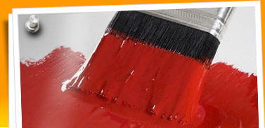 page one google red paint brush